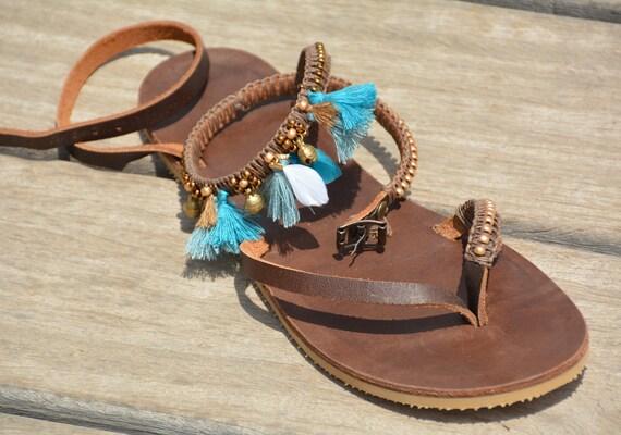 Boho Sandals Bohemian Sandals Hippie