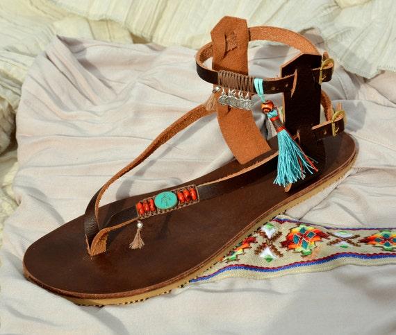Shoes Hippie Sandals Sandals Gladiator Handmade Hippie Sandals Sandals Women Bohemian Boho Leather Boho Sandals Sandals Sandals 11HYAqw