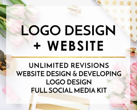 c61deda9c4 LIMITED TIME OFFER Logo design Custom Website Website