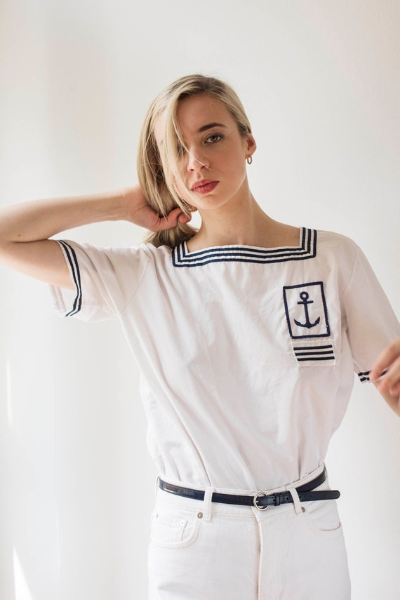 Sailor blouse 30s French