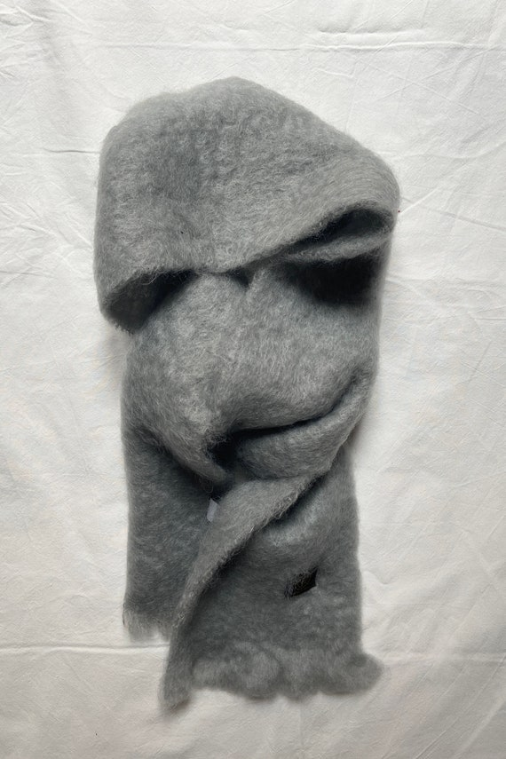 scarf in mohair