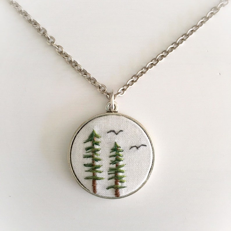 Sitka Spruce Necklace  Nature Accessory  Adventure Jewelry  image 0