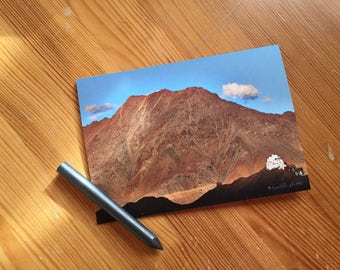 Greeting card / / the monastery in the distance / / A6