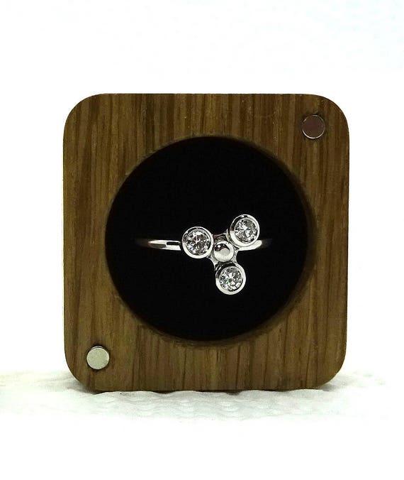 Spinner Diamond Ring ~  Gold Spinner Ring ~ Fidget Spinner Ring One Of A  Kind Spinner Engagement Ring !!!