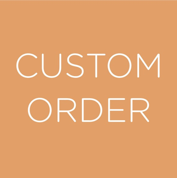 Custom Order #455 Side Stones Upgrade For Cayle Rollo
