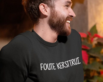 Foute Kersttrui C En A.Ugly Sweater Quote Etsy