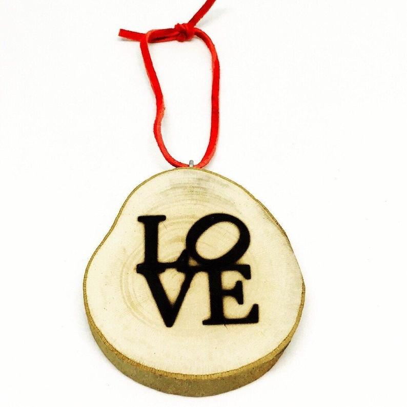 LOVE Ornament image 0