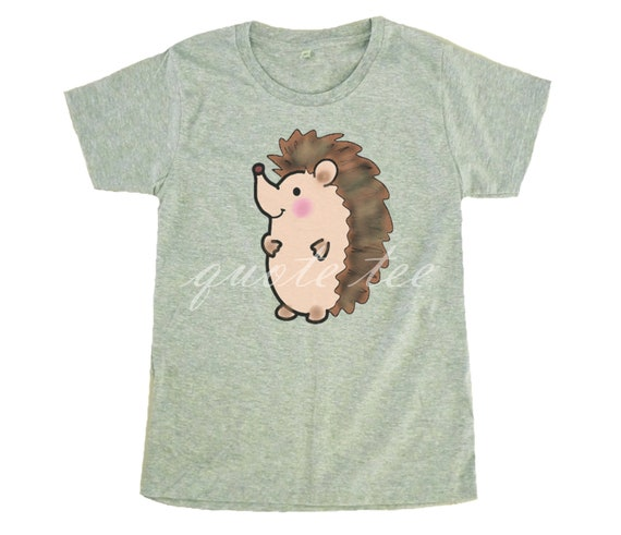 Funny Hedgehog Baby Toy Print T-Shirt S-XL Fashion