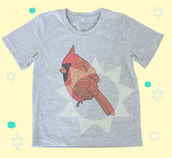 cardinal bird shirt