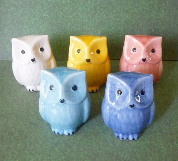 Ceramic Craft Miniature Collectible Porcelain Mini Fat Hen Rooster Farm Animal