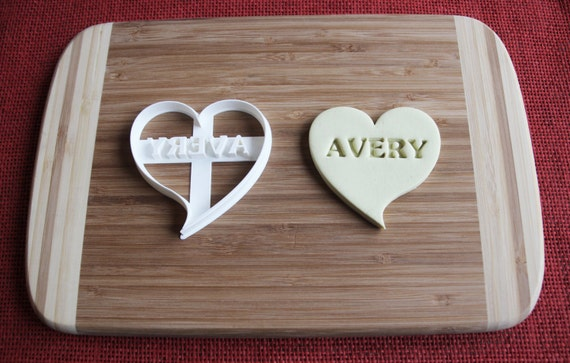 Personalized Octagon shaped cookie cutter with name or words US SELLER!!