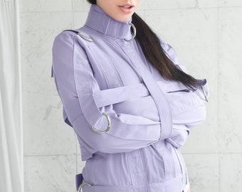 Purple ABDL Straitjacket - Straitjacket for a Little / Adult Baby Diaper Lover / DDLG / ABDL / Bondage