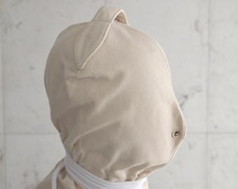 Bondage Hood - Straitjacket Heavy Duty BDSM  Blindfold Mask