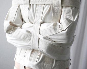 Straitjacket - Restraining Bondage Straitjacket for Asylum Patients