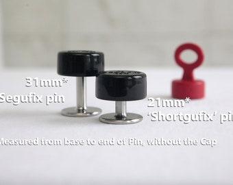 Shortgufix Black Lock - Stealthgufix / Segufix / Lock for Restraints