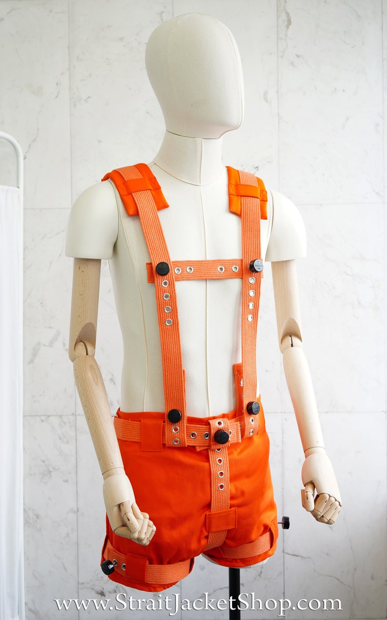 Orange Harness for Anti Diaper Removal Pants with Segufix image 0