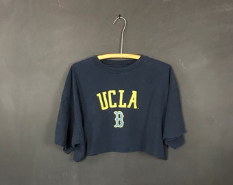 a8c9c189e51 upcycled UCLA bruins crop top large