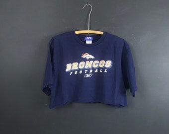 Broncos Crop Top Etsy