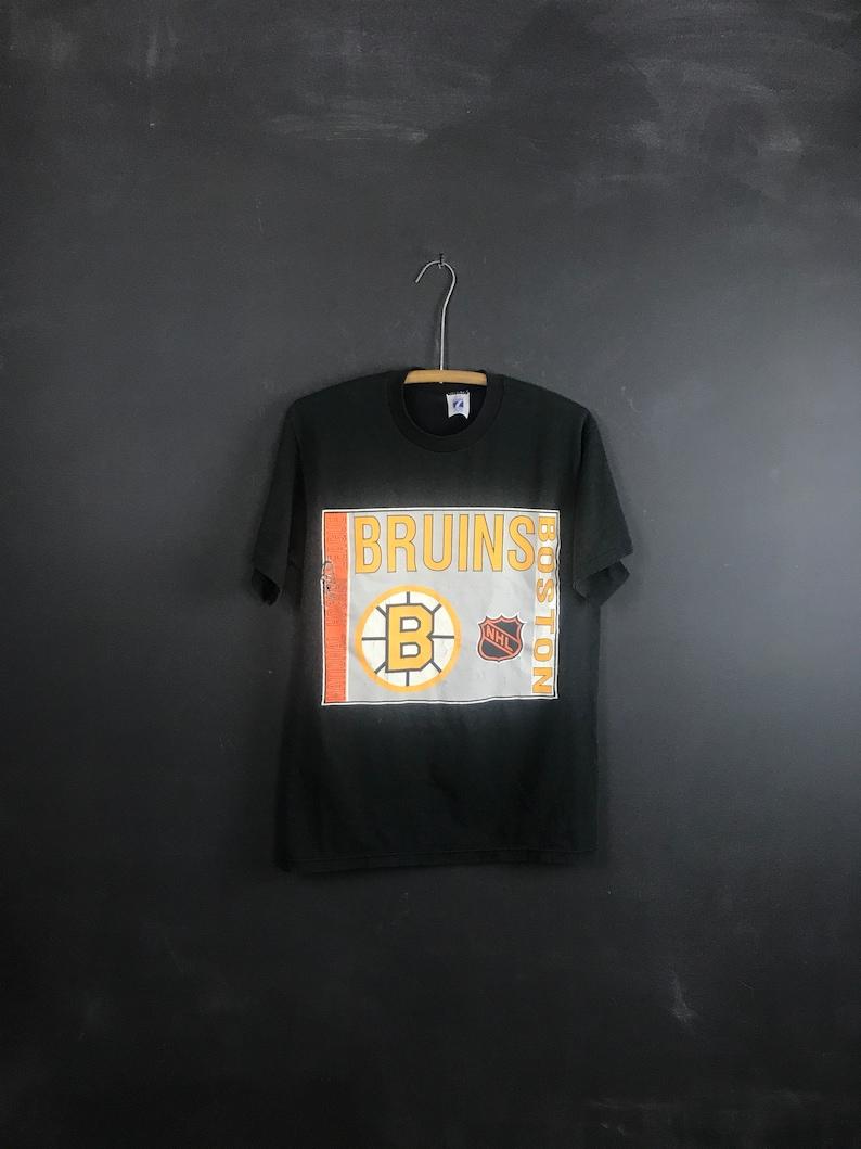 a40ab387e67c Vintage Boston Bruins 90s shirt super soft worn in NHL old | Etsy