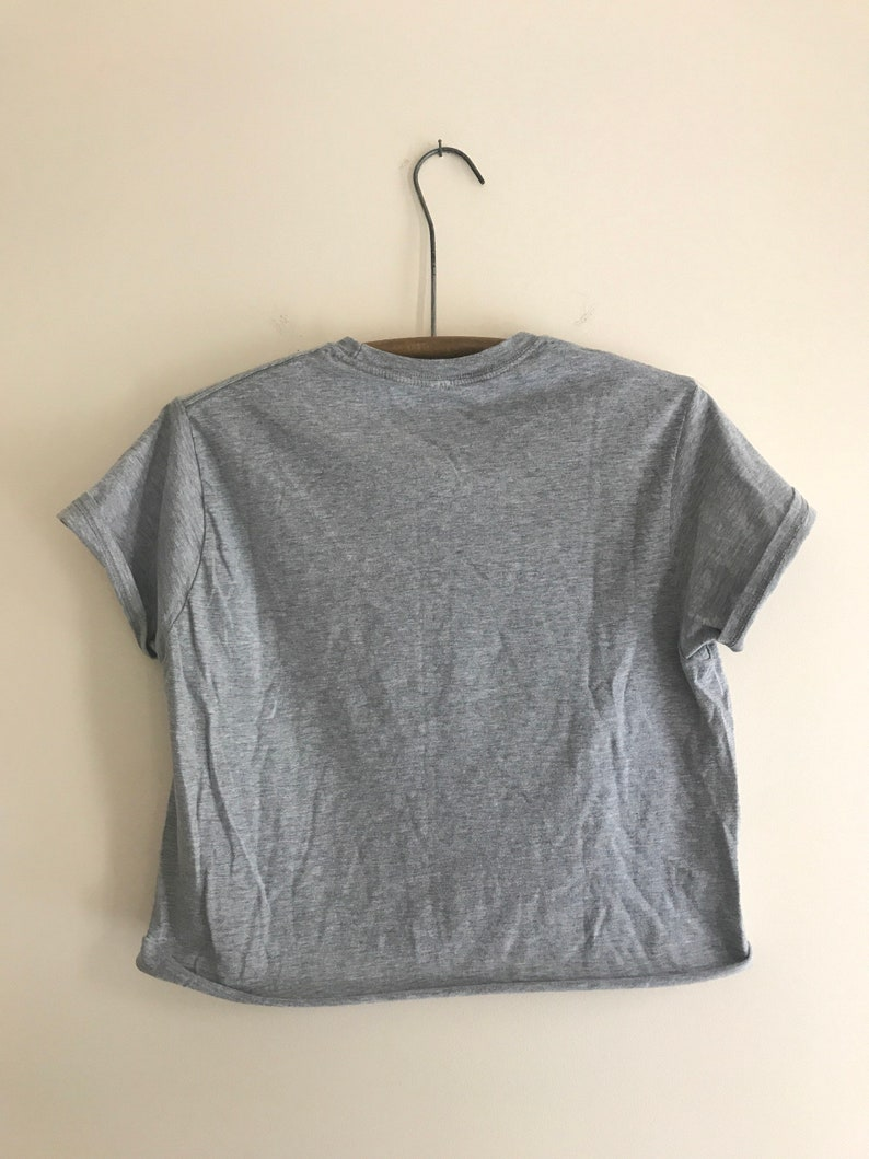 39e3b405d57 Upcycled Canadian Club Whisky super soft crop top medium