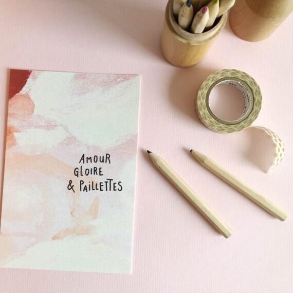 Idee Cadeau Evjf.Carte Postale Idee Cadeau Mariage Evjf Bride To Be Amitie Amour Peinture Papeterie Decoration Murale Lifestyle Cadre Paillettes