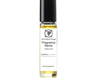 Ginger and nutmeg (with sandalwood) - Perfume oil  - (Gp1-The Perfume People)