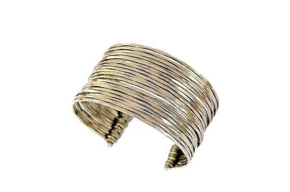 Banjara Tribal Bohemian Brass Gypsy Boho Inde Ethnic Handmade Kuchi Earrings 01