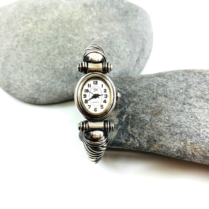 Vintage Sterling Silver Watch Vintage Watch Small Wrist image 0