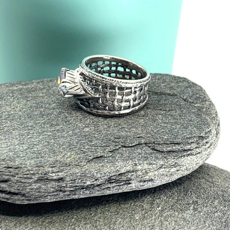 Trending Silpada Cubic Zirconia Marquis Ring Free Shipping and Gift Wrap