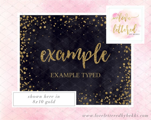 Birthday Banner Welcome Sign Printable Happy Birthday Rose Gold