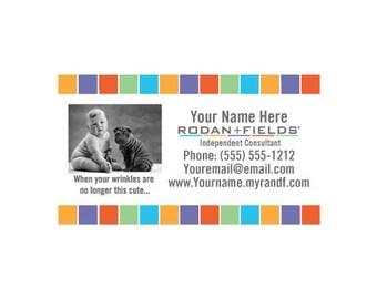 R f business card template rodan fields diy cute business cards colourmoves