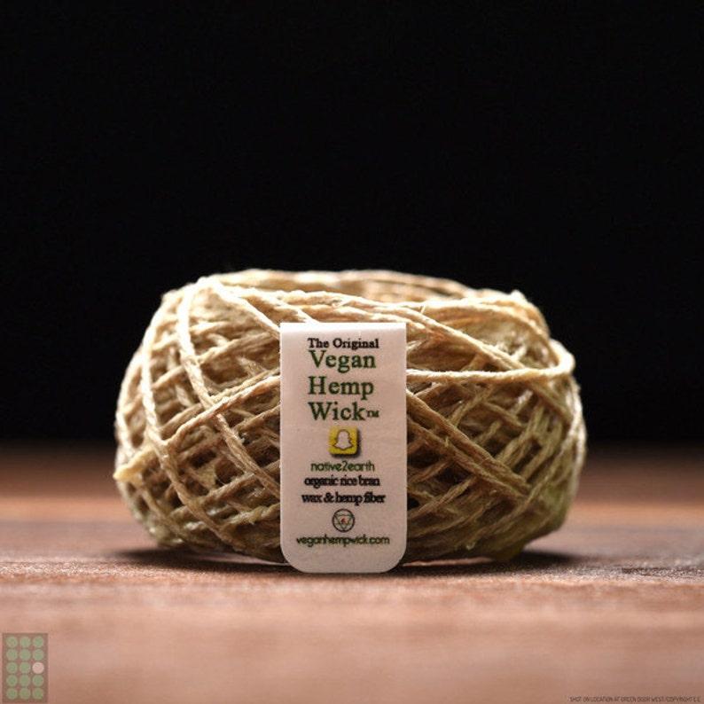 Vegan Hemp Wick image 0