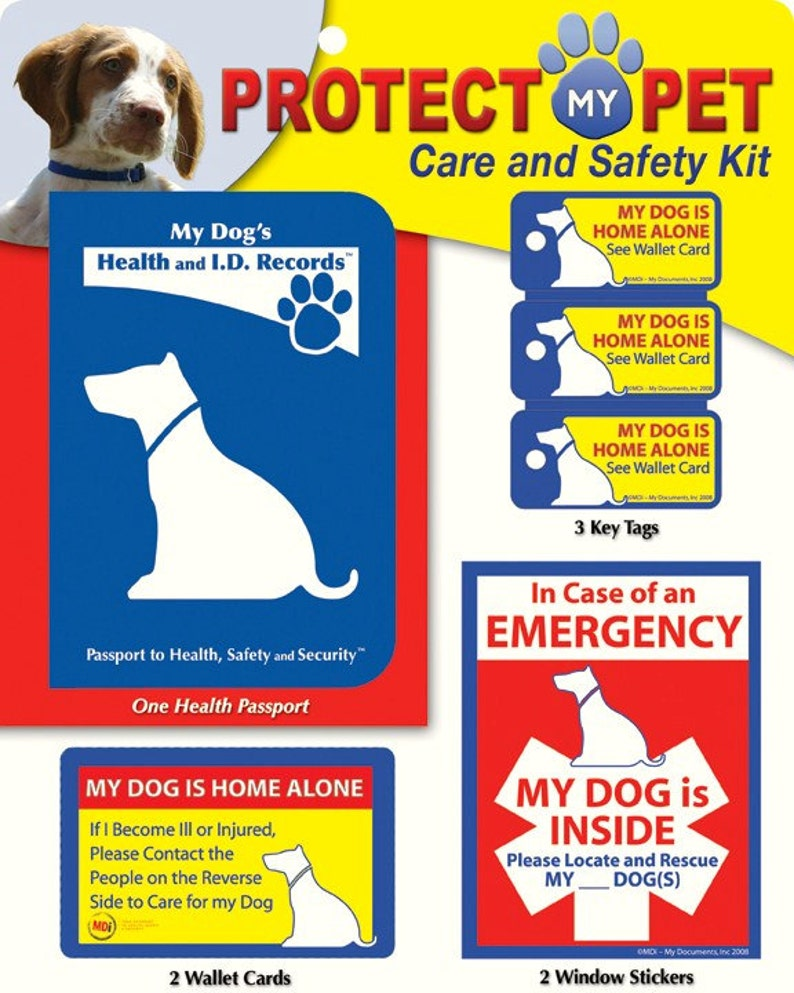 Fantastic Protect My Dog Care And Safety Kit Beutiful Home Inspiration Aditmahrainfo