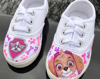 6004a1735f83a Paw patrol custom shoes