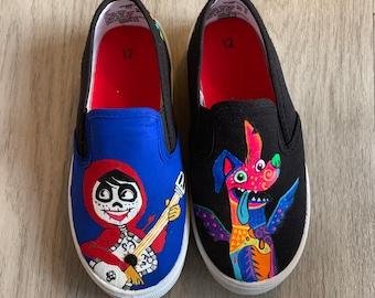 10f350133688 Coco themed custom shoes
