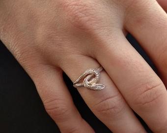 Snake ring,Sterling silver snake ring