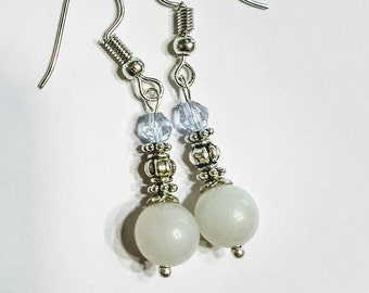Larimar earrings