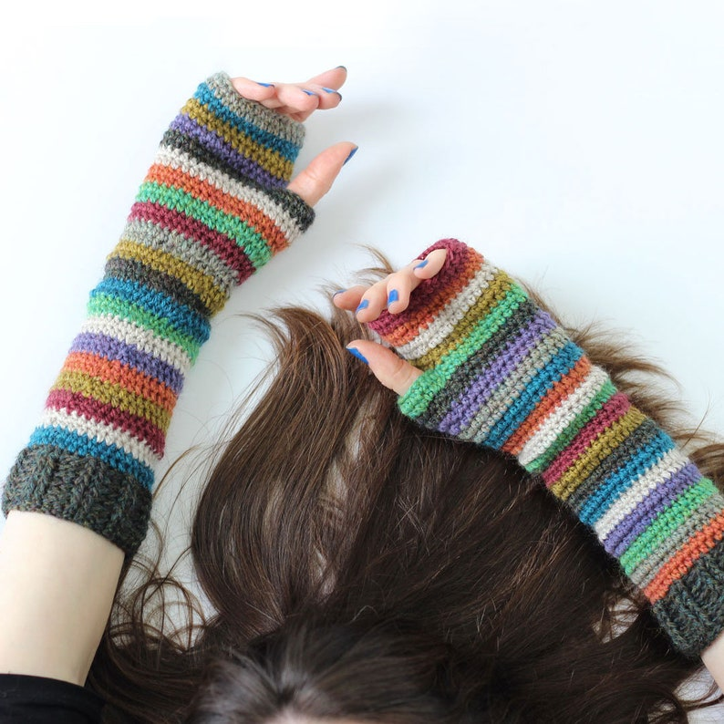Companions Crochet Wrist Warmers & Crochet Cowl. PDF Pattern. image 0
