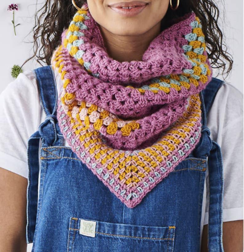 Granny Cowl PDF Crochet Pattern image 0