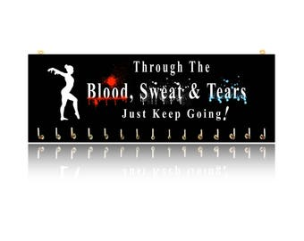 Gymnastics Blood, Sweat, Tears - Sports Medal Hangers, Displays & Plaques