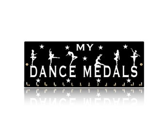 Dance Sports Medal Hangers, Displays & Plaques