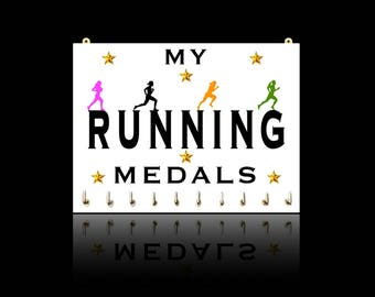 Running Sports Medal Hangers, Displays & Plaques