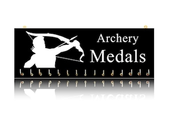Archery Sports Medal Hangers, Displays & Plaques