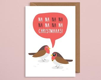 Xmas cards etsy batman christmas cardfunny xmas cardsfunny holiday card na na na christmastman robinpun cardimal christmas cardeetings card m4hsunfo