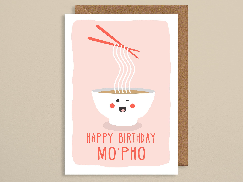 Birthday Card Funny Cute Happy