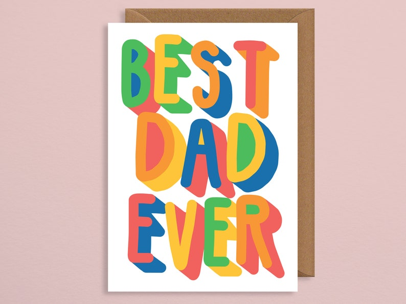 Best Dad EverDad Birthday Cardcard For DadFunny Fathers Day Cardfathers Card Funnythankyou DadFrom BabyFrom Sonfrom Bump