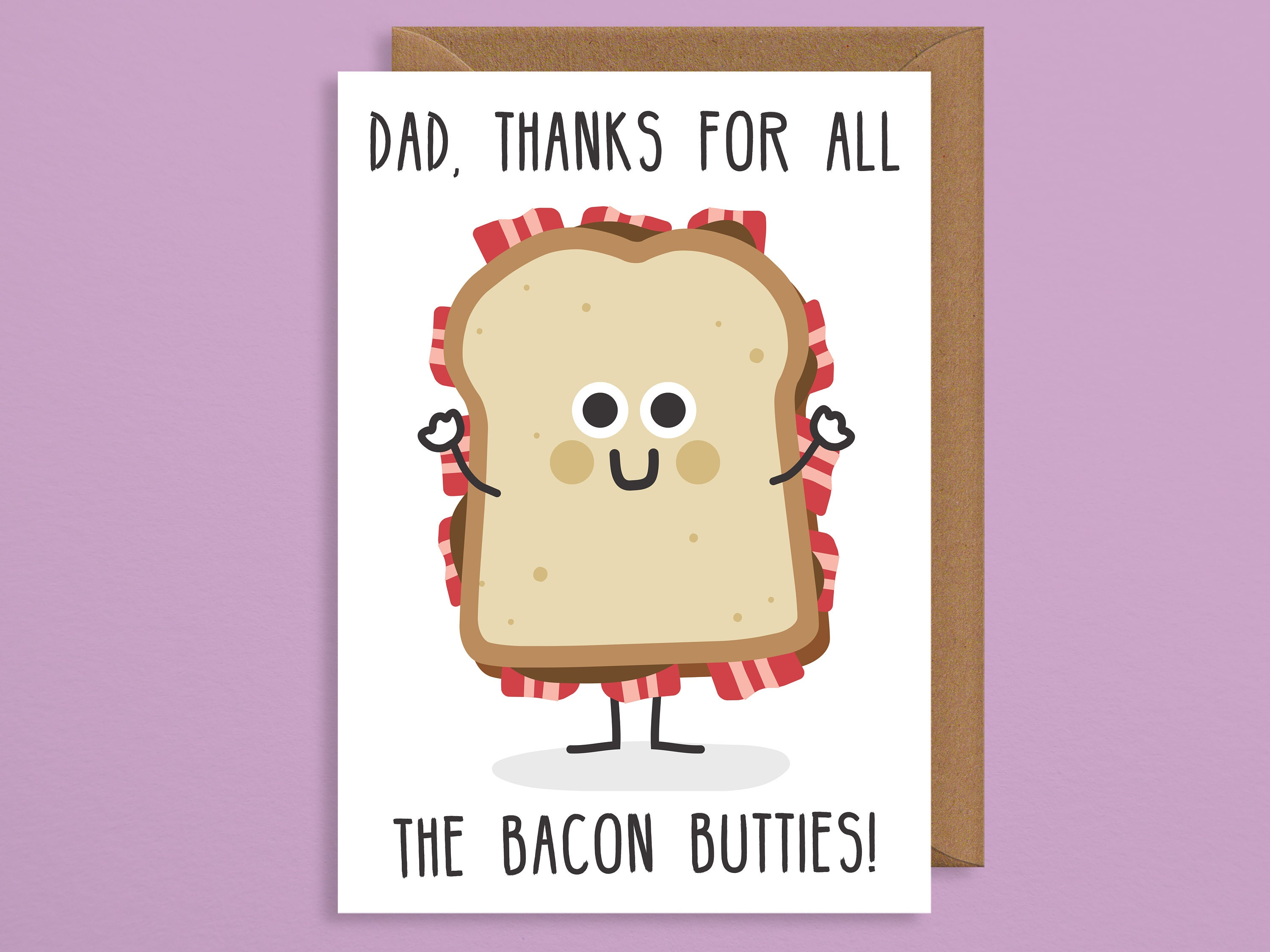 Dad Birthday CardFunny Fathers Day Cardfathers Card