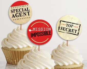 escape room invitation spy party invitation mission possible etsy