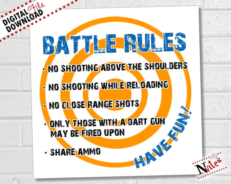 photo about Nerf Logo Printable referred to as Dart Get together Suggestions, Dart Overcome Social gathering Decor, Dart War Suggestions Indication, Dart Beat Birthday Occasion Decorations, Combat Guidance PRINTABLE