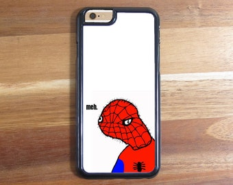 Spoderman Meh Funky Funny Phone Case iphone 5 5S 5C 6 6S 6 Plus Samsung  Galaxy S3 S4 S5 S6 Protective Case Shell 587d7f4fb